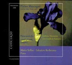 Salvatore Barbatano - Mascagni: Complete Piano Works for 2 and 4 Hands