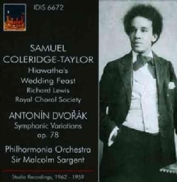 Samuel Coleridge-Taylor - Coleridge-Taylor/Dvorak: Hiawatha's Wedding Feast/Symphonic Variations