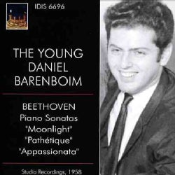 Daniel Barenboim - The Young Daniel Barenboim Plays Beethoven