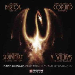 Park Avenue Chamber Symphony - Bartok, Copland, Stravinsky & Vaughan Williams