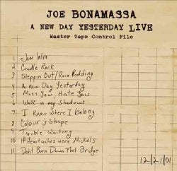 Joe Bonamassa - A New Day Yesterday Live