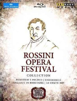 Rossini Opera Festival Collection: Live from Pesaro (Blu-ray Disc)