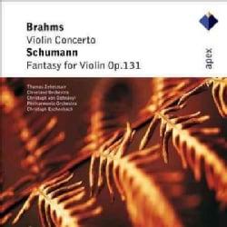Cleveland Orchestra - Brahms: Violin Concerto/Schumann: Fantasy For Violin Op. 131
