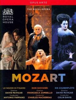 Mozart: Don Giovanni/Die Zauberflote/Le Nozze Di Figaro (DVD)