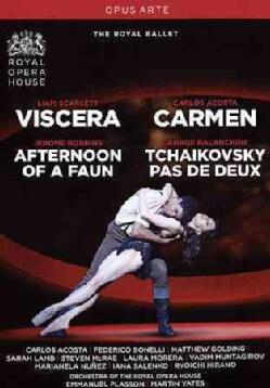 Carmen/Viscera/Afternoon of a Faun/Tchaikovsky Pas De Deux (DVD)