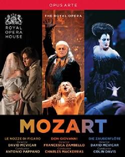Mozart: Don Giovanni/Die Zauberflote/Le Nozze Di Figaro (Blu-ray Disc)