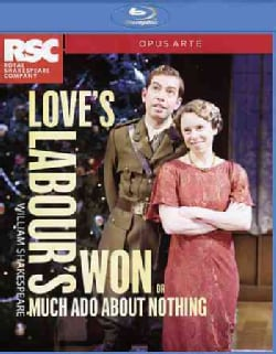 Love's Labour's Won aka Much Ado About Nothing (Blu-ray Disc)