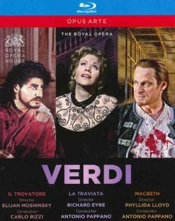 Verdi: Il Trovatore/La Traviata/Macbeth (Blu-ray Disc)