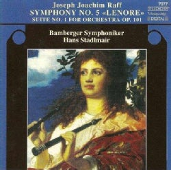 Joseph Joachim Raff - Raff: Symphony No 5 Op, 177 Lenore, Suite No 1 Op. 101