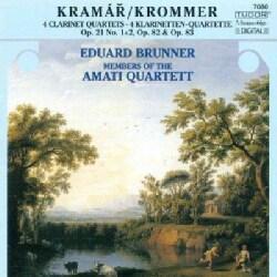 Franz Vincenz Krommer - Krommer: 4 Clarinet Quartets