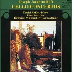 Joseph Joachim Raff - Raff: Cello Concertos No. 1 & 2, Begegnung, Duo