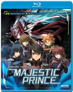 Majestic Prince: Complete Collection (Blu-ray Disc)