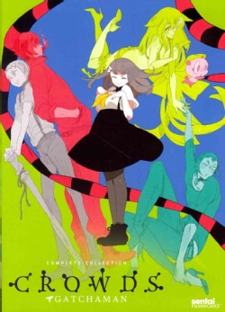 Gatchaman Crowds: Complete Collection (DVD)
