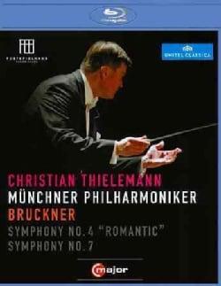 Bruckner: Symphonies Nos. 4 & 7 (Blu-ray Disc)