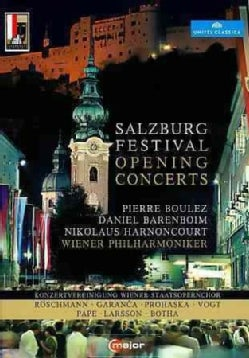 Salzburg Festival: Opening Concerts (DVD)