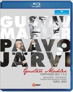 Mahler: Symphonies Nos. 3 & 4 (Blu-ray Disc)