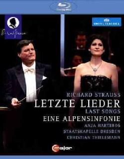 Strauss: Last Songs: An Alpine Symphony (Blu-ray Disc)