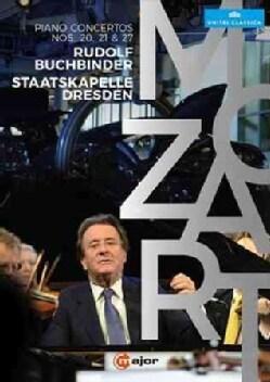 Mozart: Piano Concertos Nos. 20, 21, 27 (DVD)
