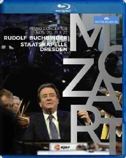 Mozart: Piano Concertos Nos. 20, 21, 27 (Blu-ray Disc)