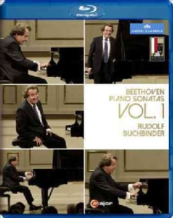 Beethoven: Piano Sonatas: Vol. 1 (Blu-ray Disc)