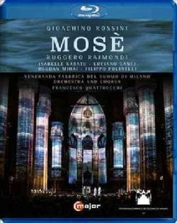 Rossini: Mose (Blu-ray Disc)
