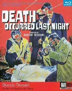 Death Occurred Last Night (Blu-ray Disc)
