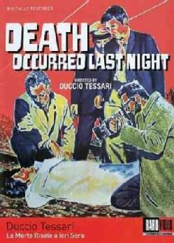 Death Occurred Last Night (DVD)