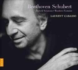 Laurent Cabasso - Beethoven/Schubert: Diabelli Variations, Wanderer Fantaisie