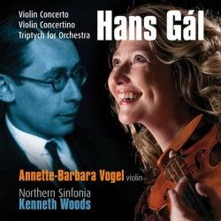 Annette-Barbara Vogel - Gal: Violin Concerto