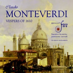 Apollo's Fire - Monteverdi: Vespers of 1610