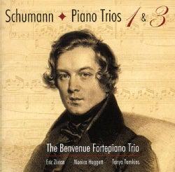 Benvenue Fortepiano Trio - Schumann: Piano Trios 1 & 3