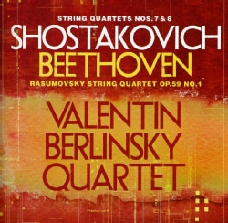 Valentin Berlinsky Quartet - Shostakovich: String Quartets 7 & 8/Beethoven: String Quartet Op. 59, No. 1