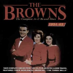 Browns - Complete As & Bs and More: 1954-1962
