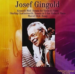 Josef Gingold - Josef Gingold Historic Recordings