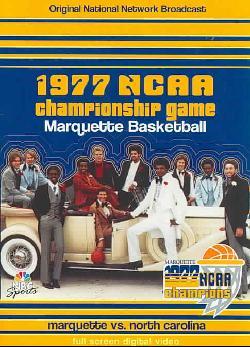 1977 NCAA Championship Game: Marquette Vs. North Carolina (DVD)