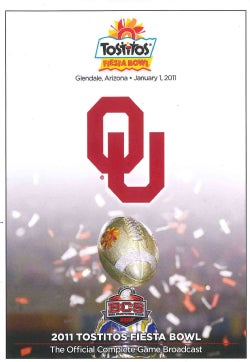 2011 Tostitos Fiesta Bowl: OU Vs. UCONN (DVD)
