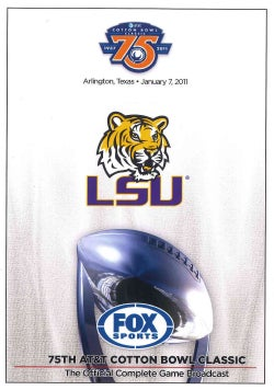 2011 Cotton Bowl: LSU Vs. Texas AM (DVD)