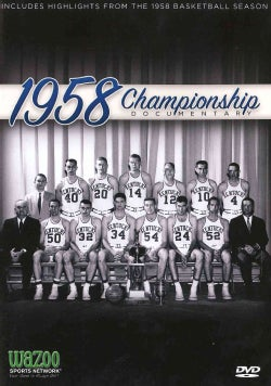 1958 NCAA Men's Basketball Championship: Kentucky Vs. Seattle (DVD)
