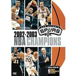 NBA Champions 2003: San Antonio Spurs (DVD)
