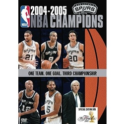 NBA Champions 2005: San Antonio Spurs (DVD)