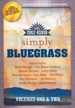 Simply Bluegrass: Vol. 1 & 2 (DVD)