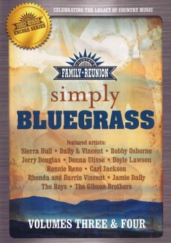 Simply Bluegrass: Vol. 3 & 4 (DVD)