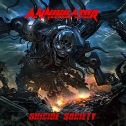 Annihilator - Suicide Society (Parental Advisory)