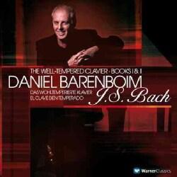 Daniel Barenboim - Bach: Well-Tempered Clavier Books 1 & 2