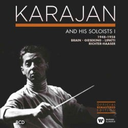 Various - The Karajan Official Remastered Edition - Karajan and his Soloists 1: Concerto Recordings 1948-1958