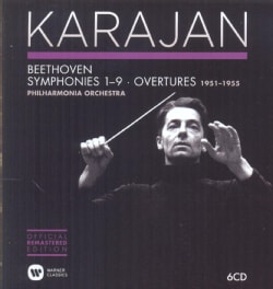 Philharmonia Orchestra - The Karajan Official Remastered Edition - Philharmonia Orchestra 1951-1955: Beethoven Symphonies & O...