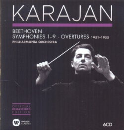 Philharmonia Orchestra - The Karajan Official Remastered Edition - Philharmonia Orchestra 1951-1955: Beethoven Symphonies & O...