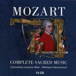 Nickolaus Mozart-Harnoncourt - Mozart: Complete Sacred Music