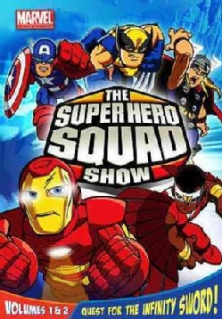 The Super Hero Squad Show Vol. 1 & 2 (DVD)