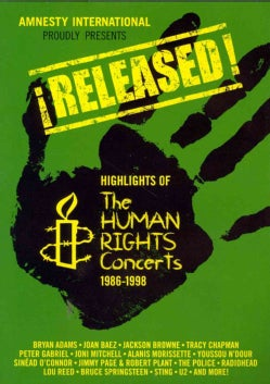 Released: Highlights Of The Human Rights Concerts 1986-1998 (DVD)